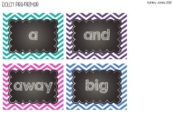 Chevron and Chalkboard Word Wall {Editable}