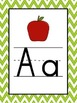 Chevron Word Wall Posters, ABC Headers, Banner, & Fry 1st 100 Words