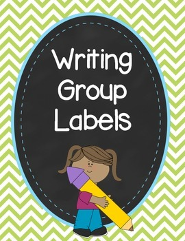 Chevron Writing Group Labels