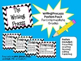 Chevron Writing Process Poster Pack