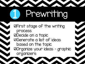 Chevron Writing Process