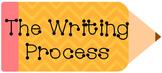 Chevron Writing Process Pencil Bundle Editable