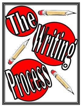 Chevron Writing Process Posters