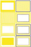 Chevron Yellow w Purple Boarder in JPEG.