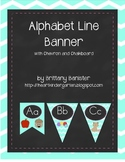 Chevron and Chalkboard Alphabet Banner Print Saxon Phonics