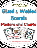 Chevron Stitched **Glued and Welded Sounds Posters and Charts**