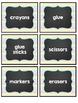 Chevron and Chalkboard Labels - Editable