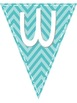 Chevron and Dots Welcome Pennant