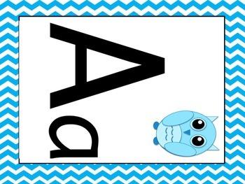 Chevron and Owl Alphabet