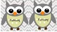 Chevron and Owl Classroom Library Genre Labels