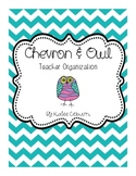 Chevron and Owl Organizer Pages