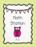 Chevron and Owl Stations and Center Signs