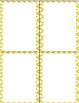 Chevron and Pineapple Name Tags {Editable}