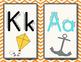 Chevron and Polka Dot ABC Cards