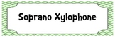 Chevron and Polka Dot Orff Instrument Labels (Xylo, Glock, Metallophone)