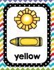 Color Word Posters- Kindergarten