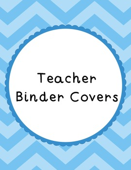 {Chevron and Scallops} Multi-Colored Binder Covers/Dividers