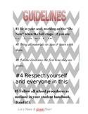 Chevron classroom guidlelines