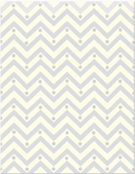 Chevron digital paper in soothing pastels!