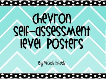 Chevron self-assessment posters