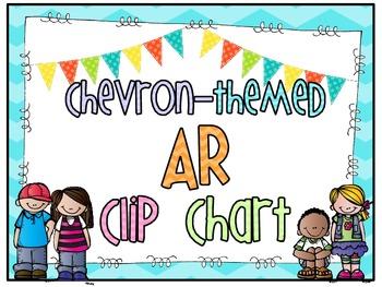Chevron-themed AR Clip Chart
