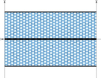 Chevrons and Dots: Bulletin Board Border and Letter Pack for Word Walls!