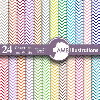Digital Papers - Chevrons digital paper and backgrounds, AMB-314
