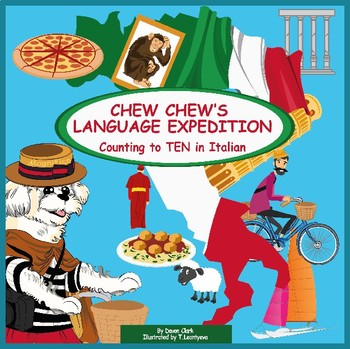Chew Chew's Language Expedition, Counting to TEN in Italian