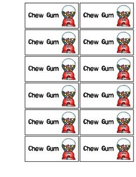 Chew Gum Coupon