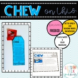 Chew on This Handout for Better Speech and Hearing Month