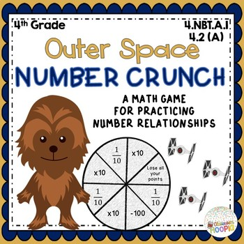 Chewbacca Number Crunch Place Value Relationship Game