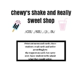 FREEBIE Chewy's Shake and Really Sweet Shop (articulation)