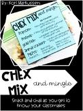 Chex Mix and Mingle