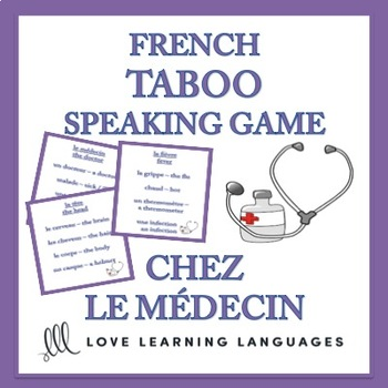 Chez le Médecin - French Taboo Speaking Game