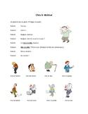 Chez le docteur, santé, parties du corps, dialogue in French