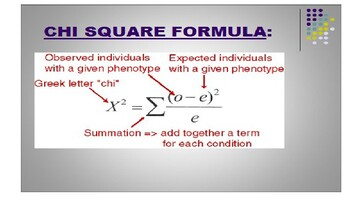 Chi-Squared Analysis Lecture Slides