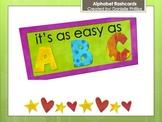 Chic Alphabet Flashcards