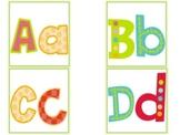 Chic Alphabet Labels