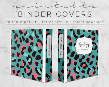 Chic B&W stripes & dots PRINTABLE Binder Covers & Inserts!