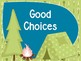 Chic Camping (Glamping) Theme Classroom Behavior Chart EDITABLE
