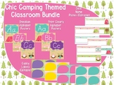 Chic Camping (Glamping) Theme Classroom Bundle Pack