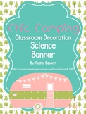 Chic Camping (Glamping) Theme Science Banner
