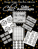 Chic Classroom Assistants/ Class Jobs