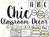 Chic Classroom Decor