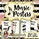 Chic & Glam Music Decor BUNDLE! {Symbols, Instruments, Rules, & More!}