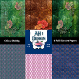 Chic and Shabby Art Journal Papers