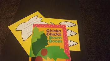 Chica Chica Boom Boom Character Cut-outs