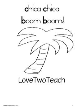 Chica Chica Boom Boom:  Literacy and Math Center Fun