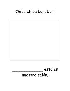 Chica Chica Bum Bum Class Book Spanish