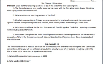 Chicago 10 film guide